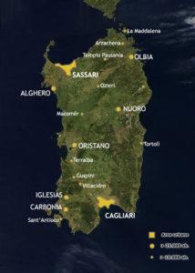 Cartina Sardegna Con Aeroporti.Dove Siamo Bed Breakfast Rio Barca